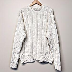 Eddie Bauer Cableknit Sweater